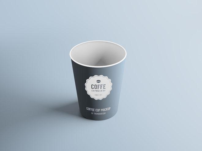 Free Plastic Cup Mockup PSD