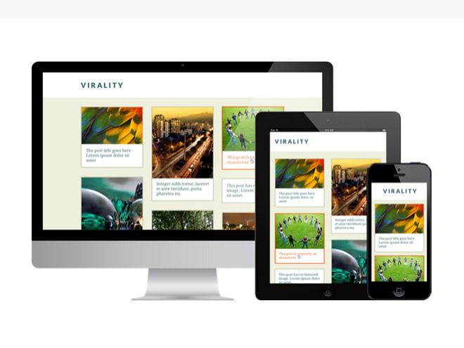 Virality : Blogging WordPress Theme