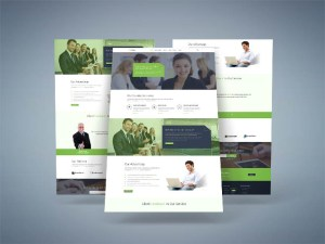 Aleor : Free Business PSD Template