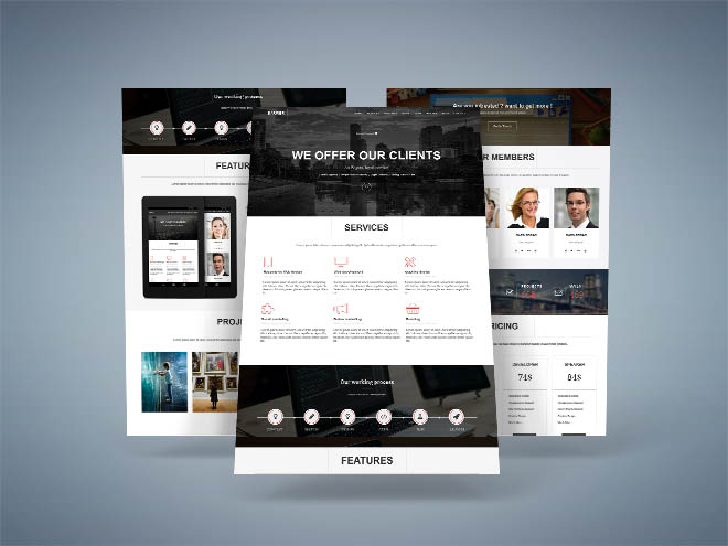 Barier : Free Responsive Business Template