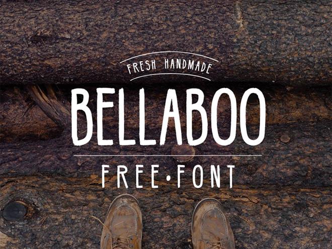 Bellaboo : Free Hipster Font