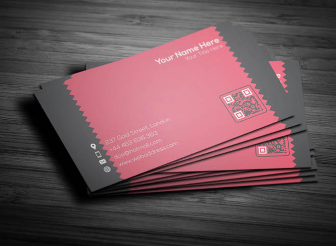 Free Creative Corporate Business Card Template