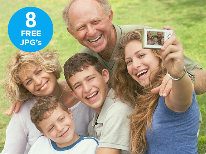 8 Free HD Family Stock Photos