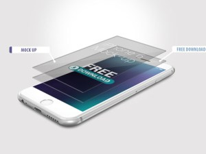 Free iPhone 6 Mockups PSD