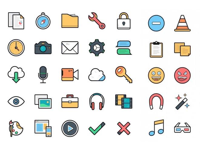 Lulu : 100 Free Vector Icons