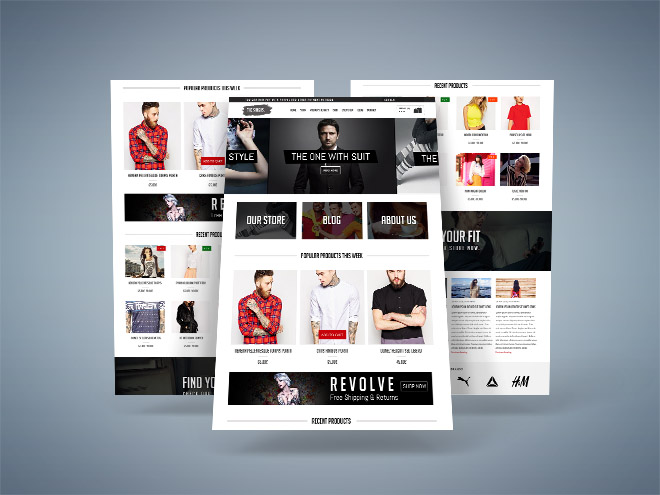 Singhs – Free Ecommerce PSD Template