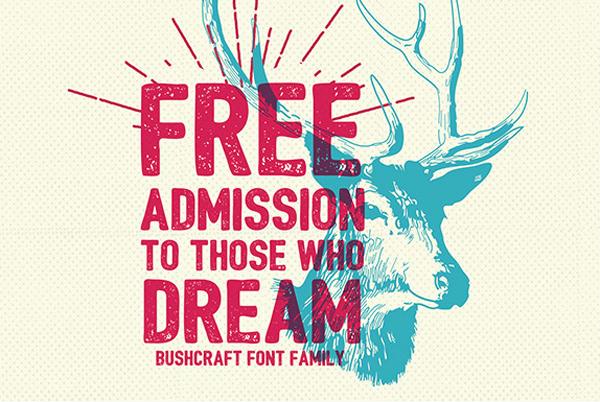 Bushcraft Free Font Family