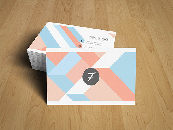 8 Free Elegant Business Card Template