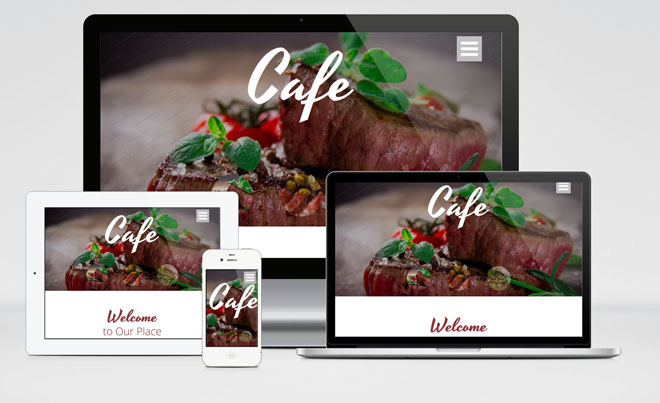 Cafe : Free Responsive Restaurant HTML5 Template