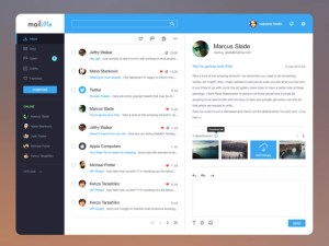 Free Email client template