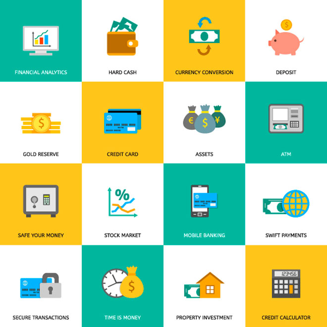 free finance icons