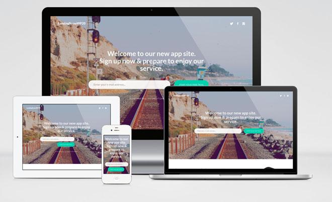 Landing Sumo : Free Responsive Landing Page WordPress Theme