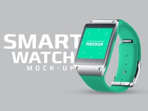Free Smart Watch Mockup PSD