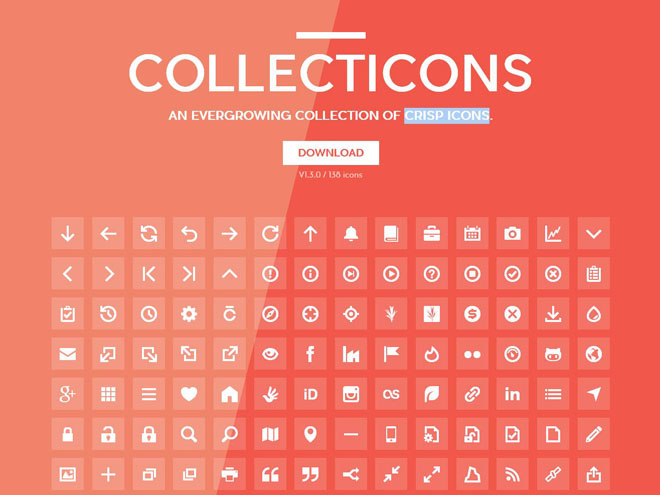 Collecticons : Free Crisp icons