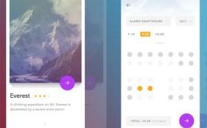 Cinema App UI Design (Sketch)