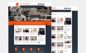 SolaryaDragoon : Free Magazine PSD Template