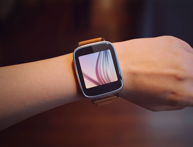 Free Asus Zenwatch Mockup PSD