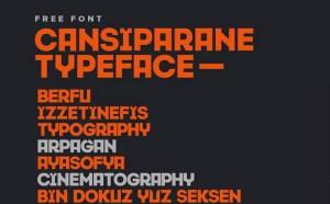 Cansiparane Free Font