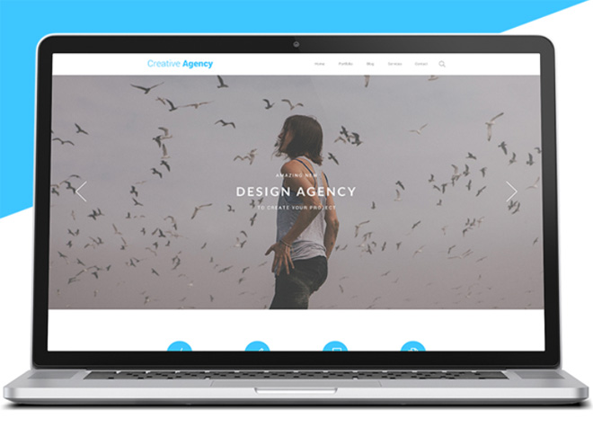 Creative Agency PSD Website Template