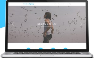 Creative Agency PSD Website Template