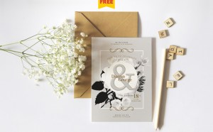 Florencia : Free Wedding Invitation Template