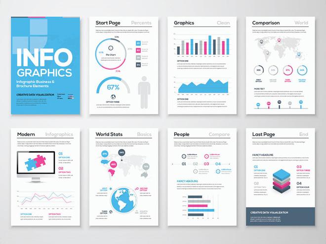 Free Infographic Template (Illustrator )