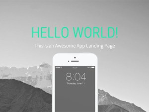Landy : Free iOS App Landing Page Template