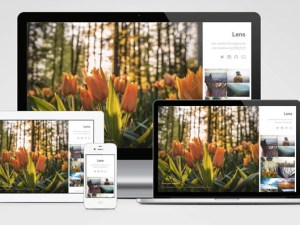 Lens : Free Responsive Photography Web Template
