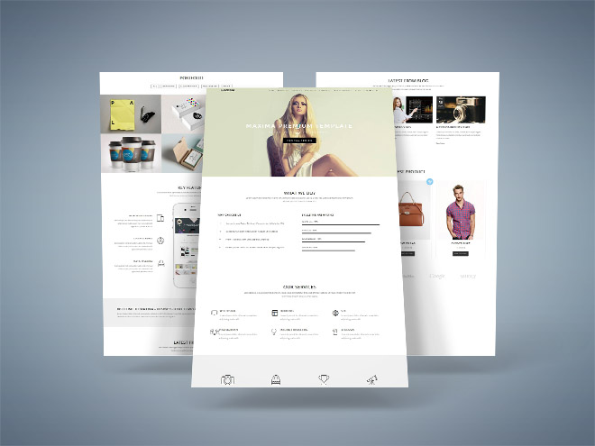 Maxima - Free Bootstrap Business Template