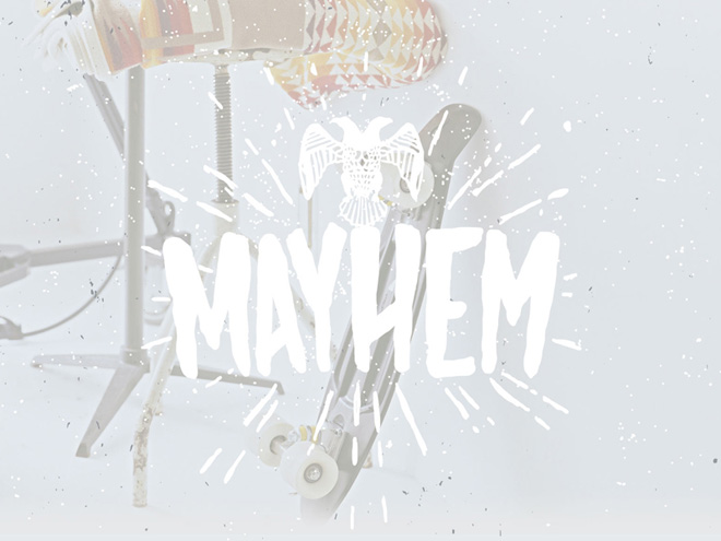 Mayhem : Simple Hand-drawn Font