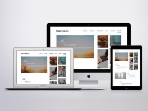 Minimalist Business PSD Template