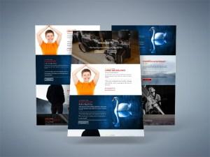 Free Photo Studio PSD Website Template
