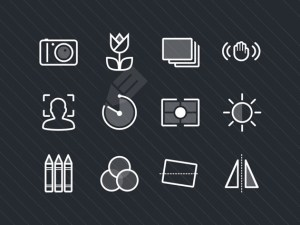 Free Photography Icon Set