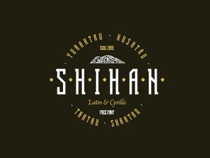 Shihan Free Display Font