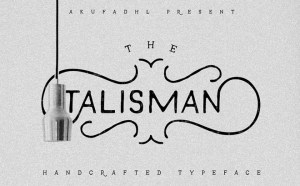 Talisman Handcrafted Typeface