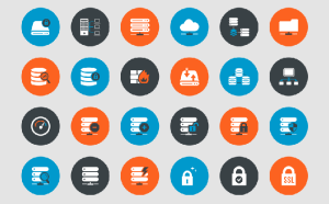 Free Web Hosting Icon Set
