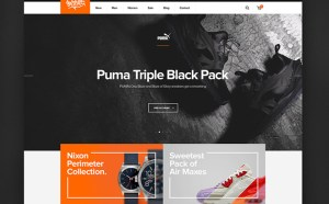 Shelflife : Sneaker Ecommerce PSD Template