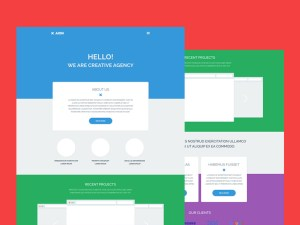 Aion : Simple Business PSD Template