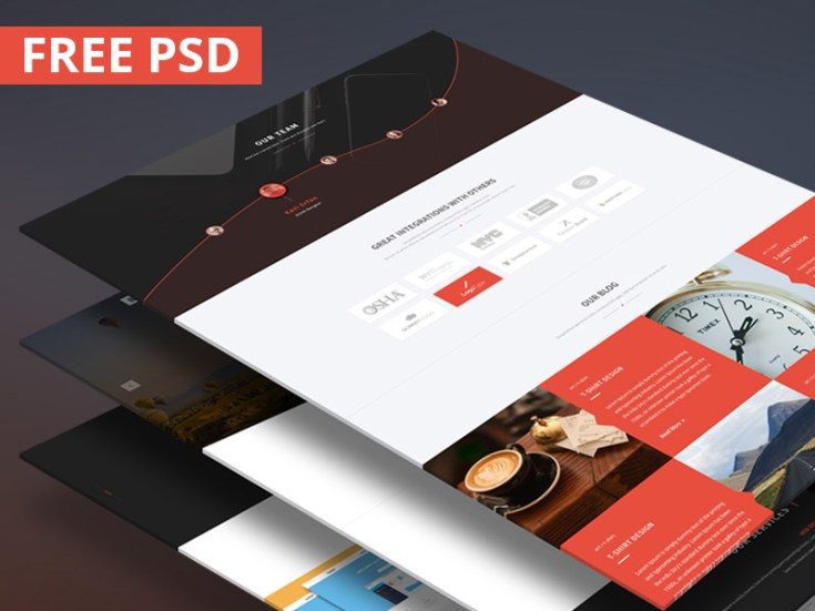 Bino : Multi-Purpose Landing Page Template