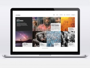 Fotopedia : Free Photography One Page PSD Template