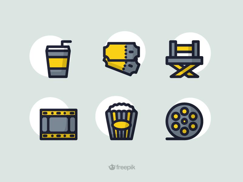 Free Movie Icon Set