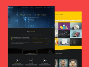 BeOnePage : Free Responsive One-Page WordPress Theme