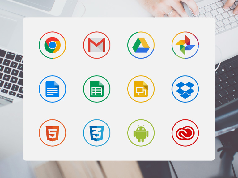 65 Free circle icons for designers