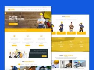 ConBiz : Free Construction Bootstrap Template