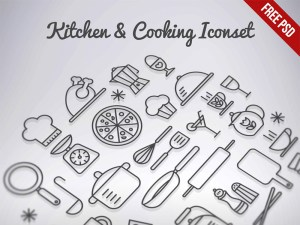 Free Cooking Icon Set