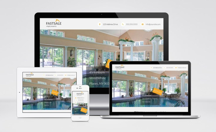 Fastsale : Free Real Estate Wordpress Theme