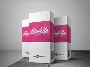 Free Packaging Mockup PSD