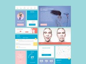 Pantone UI Kit PSD