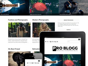 Problogg : Simple Blog Wordpress Theme