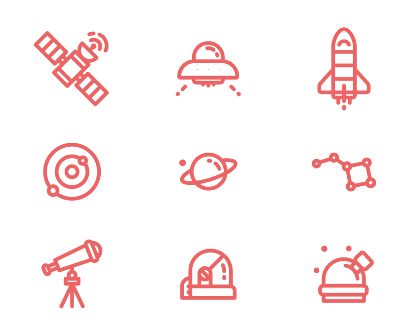 Free Space Vector Icon